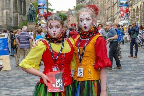 Edinburgh Fringe actors