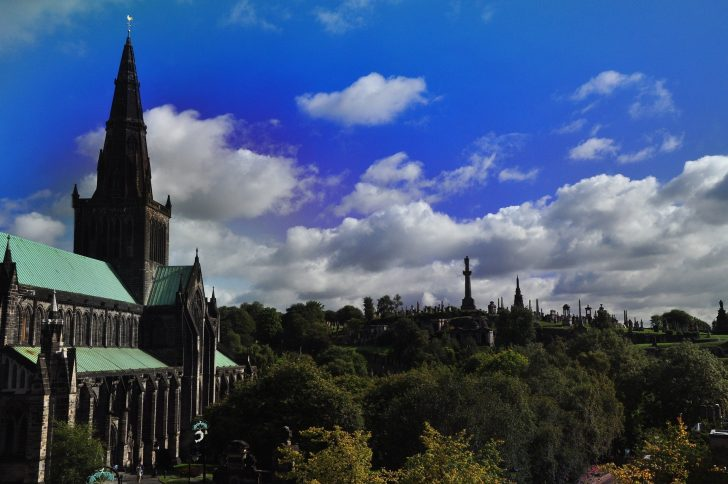 Glasgow cathedral and the necropolis