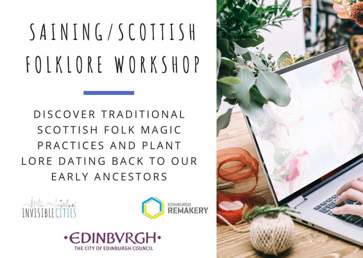 Saining/Scottish folklore workshop with Edinburgh Remakery