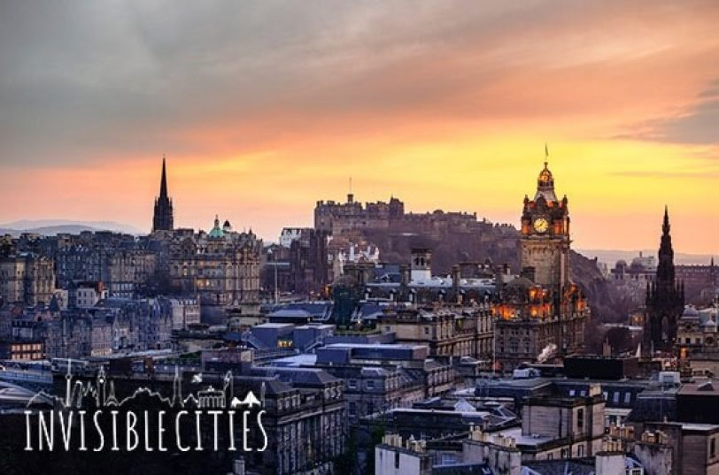 Edinburgh with logo